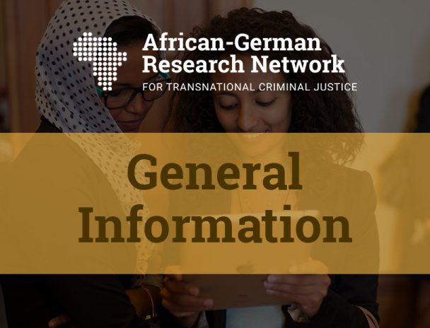 The new website of the African-German Research Network for Transnational Criminal Justice