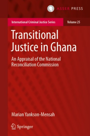 New Book: Transitional Justice in Ghana – An Appraisal of the National Reconciliation Commission