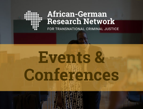 Conference Programme: Second Conference Of The African-German Research Network – Zoom (Online) 2020